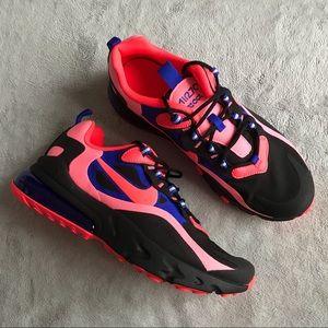 Nike Air Max 270 React Sunset Pulse Sneaker Shoe